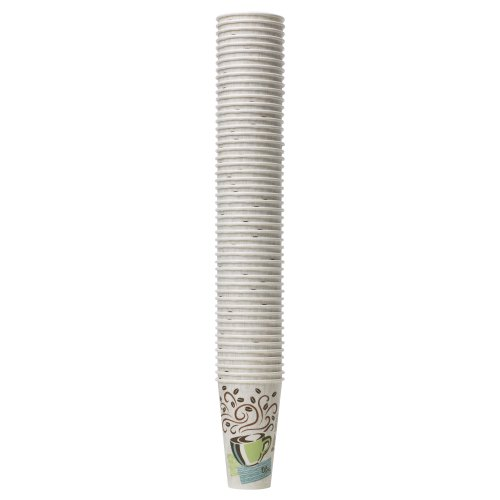 Dixie PerfecTouch 5342CDSBP Insulated Hot Cup New Design 12 oz. 160 cups