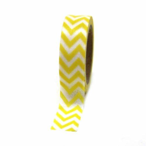 Dress My Cupcake Chevron Yellow