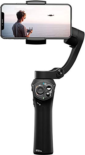 Atom - A Pocket Sized 3-axis Smartphone Foldable Gimbal | Super Portable, Lightweight, Expanded App Extensions, Wireless Charging, 310g Payload, Mic Jack, One-Key Switch, Zoom & Focus Control