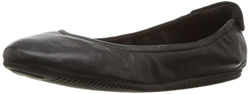 Cole Haan Studiogrand Convertible Ballet Flat,Black Leather,9 B US