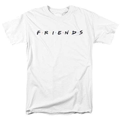 Popfunk Friends TV Show Logo White T Shirt & Stickers (Medium)