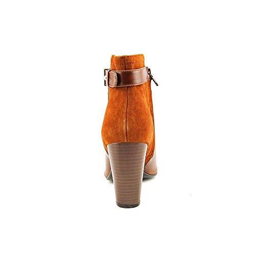 Alfani Donelle Kvinna Storlek 10 Bruna Läder Mode Boots