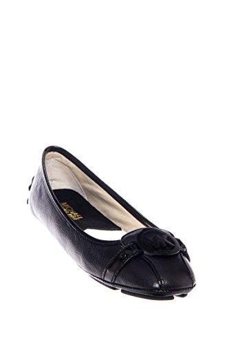 Michael Michael Kors Women's Fulton Ballet Flat,Black Leather,9 M US