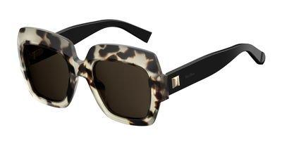 max-mara-plastic-rectangular-sunglasses-52-0boa-ivogd-havana-70-brown-lens