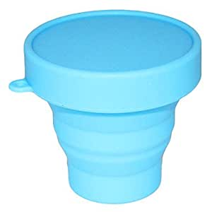 INFINITY-1201 Foldable silicone measuring cup(Blue)