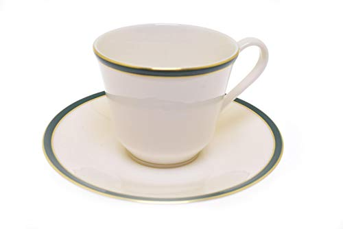 (Royal Doulton Oxford Green Cup and Saucer Set (England))