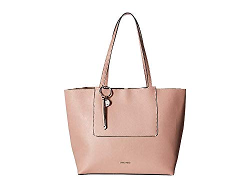 Nine West Women's Nylah Tote Modern Pink One Size