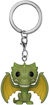 Amazon.com: Funko Pop! Keychains: Game of Thrones - Rhaegal ...