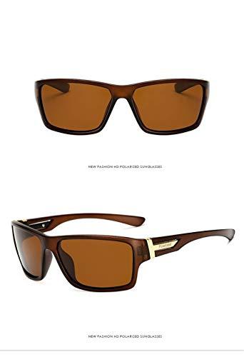 Sol Ultra Sol Unisex Vintage UV400 de de Mujer Estuche Gafas Gafas Sol Hombre Retro de para Sol Ligero A de Deportivas de Fliegend Polarizadas Gafas Gafas sol Brown Gafas Hx1Pwq