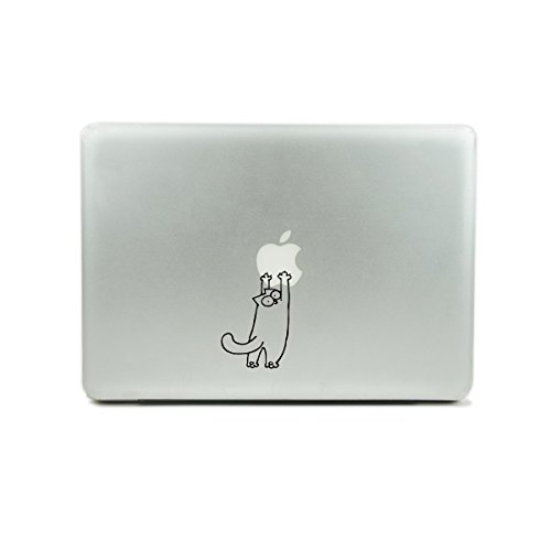 "Originality Fat Kitten- Macbook Air / Pro 11"" 13"" 15"" 17"" Laptop/iPad Vinyl Decal Sticker"