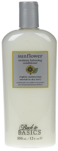 Back to Basics Sunflower Moisture Balancing Conditioner 12 Ounces