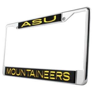 WinCraft Appalachian State University S94211 LIC PLT Frame S//L Metallic
