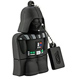 KIDdesigns USB 2.0 Flash Drive, 16GB, Star Wars Darth Vader, Black, LYU16CVFXV6