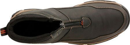 CLARKS Men's Walbeck Rise Waterproof Boot,Black Waterproof Leather,US 8 W