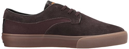 Lakai Riley Hawk Zapato Skate Suede Chocolate
