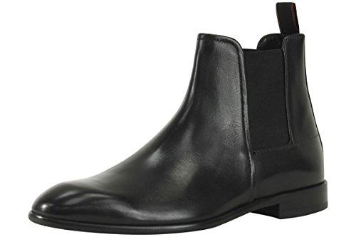 HUGO Men's Dressapp Chelsea Boots, Black, 10 D(M) - Boots Hugo