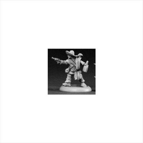Reaper Miniatures 50050 Chrono Lobo Sanchez, Mexican Bandito by Reaper