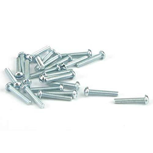 Round Head Screw, 2-56 x 1/2