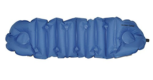 Klymit Cush Inflatable Travel Pillow & Seat Cushion