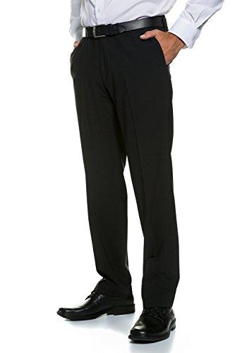 JP1880 Herren große Größen   Businesshose   knitterfrei, elastisch und pflegeleicht   schwarz 58 705533 10-58