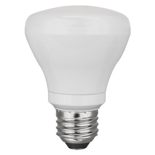 TCP 50W Equivalent BR20 LED Flood Bulb, Soft White- 2700K, Dimmable - 24 Pack