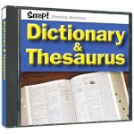 Snap! Dictionary & Thesaurus (Jewel Case) (Snap 132)