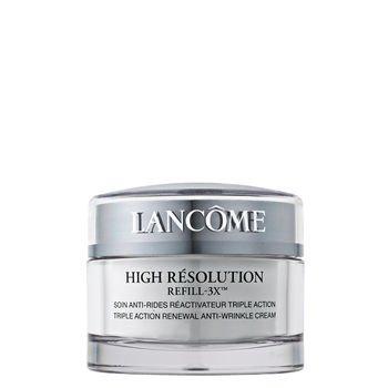 - Lancome High Résolution Refill-3xtriple Action Renewal Anti-wrinkle Cream 2.6oz/75g
