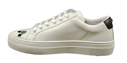 Arts Bianco Donna Scarpe Nuove Mickey MOA Pelle EU in Master Of 41 MD160 Sneakers qvXES