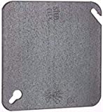 Pack of 50 Steel City 52-C-1 4'' Square Blank Cover