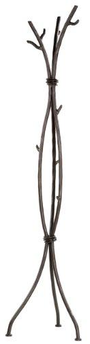 Stone Country Ironworks Sassafras Standing Coat Rack-Rust