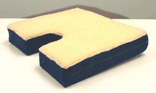 Rose Health Care, L.L.C. (n) Coccyx Gel Seat Cushion W/ Fleece Top 18 Wx16 D X 3