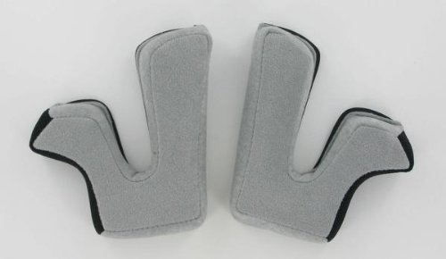 AFX Helmet Cheek Pads for FX-90 - Gray - Md 01340906