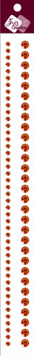 Zva Creative CRC-03CB-101 Crystal Sticker, Orange Strips (Zva Creative)