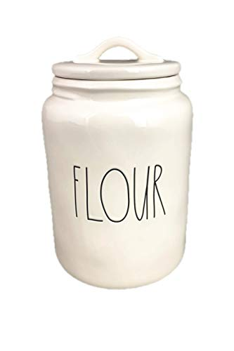 (Rae Dunn by Magenta FLOUR in large letters canister)