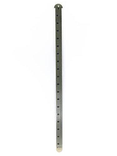 Gaebel Printers Line Gauges 18 in. (Printers Ruler)