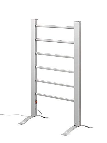 Pursonic TW300 6-Bar Freestanding or Wall Mountable Towel Warmer (Heated Rack Towel Freestanding)
