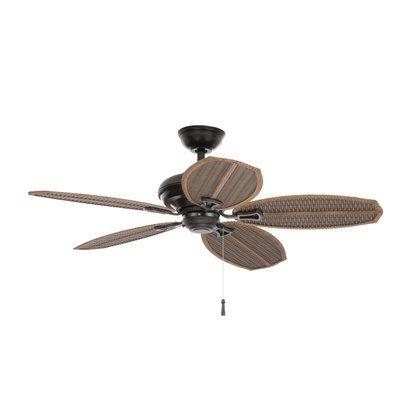outdoor fan blades hampton bay - 5