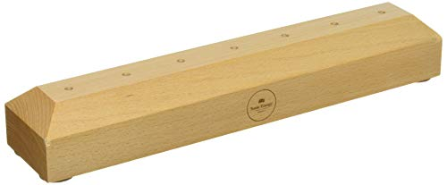 Meinl Sonic Energy TF-HOLDER-7 Tuning Fork Holder for 7 Pieces, Solid Beech Wood (Wooden Base Only)