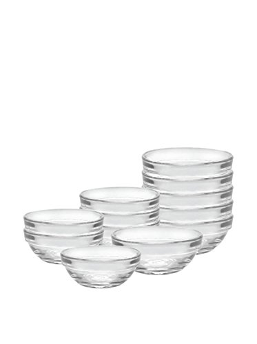 Duralex 12 Piece Bowl Set of Six