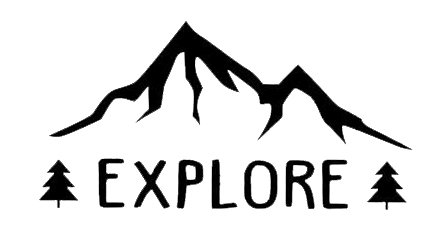 explore wanderlust decal vinyl sticker