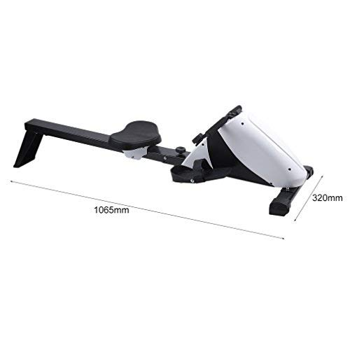 Happystore999 Magnetic Exercise Rower - Multifunction Abdominal Rowing Device with 8-Level Adjustable Resistance & LCD Monitor, for Increasing Cardio, Strengthening Core by Happystore999 (Image #6)