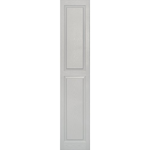 Paintable Raised Panel (Vantage 3114075030 14X75 Raised Panel Shutter/Pair 030, Paintable)