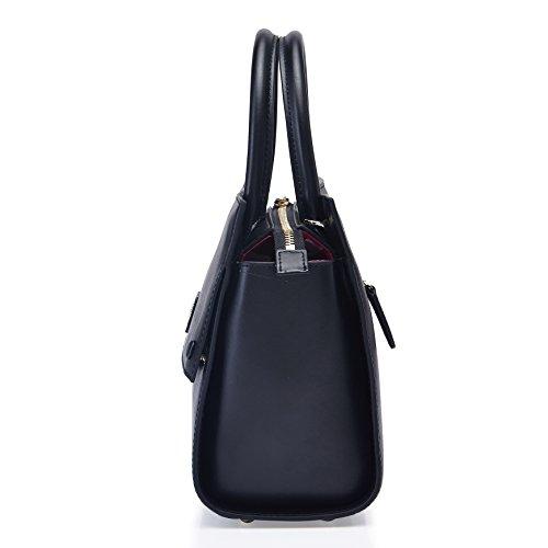 la de de Luxe pour en Elégant Mode série Femmes Sac couleur Barbie noir cuir Filles BBFB104 Shopping pure Main à à IxqCw