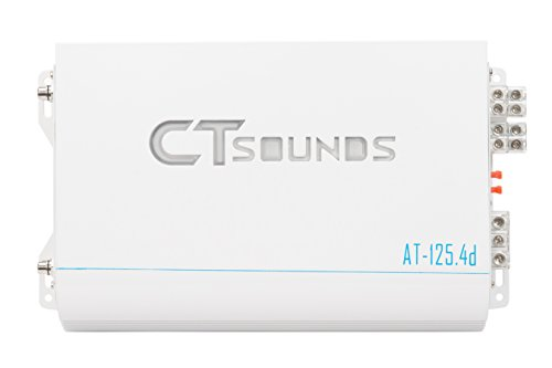 CT Sounds AT-125.4 Class D 4 Channel Car Amplifier by CT Sounds