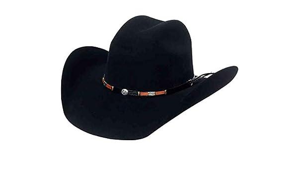 9bc197933 El General Men's Cowboy Hat Texana 50X Horma Toro Color Black Wool ...