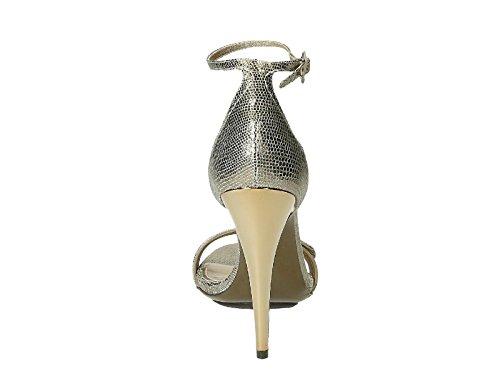 Unbekannt Sandalias de Vestir Para Mujer Plateado Plata It - Marke Größe