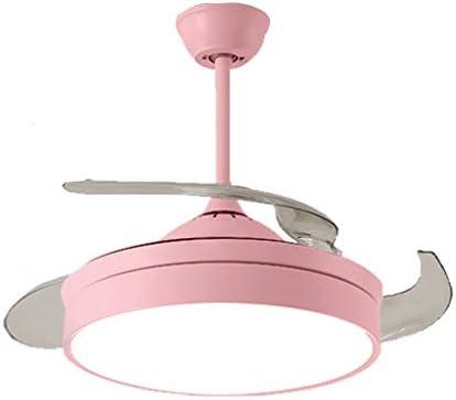 Ventilador de techo Ventilador eléctrico Material acrílico Fuente de luz Tricolor Luz LED Adecuado for el Dormitorio Sala de Estar jardín de Infantes lámpara: Amazon.es: Hogar