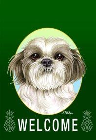 Shih Tzu Puppy Cut - Tomoyo Pitcher Welcome Pineapples Ga...