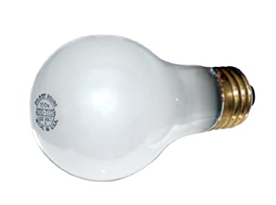 Aero-Tech ULA-93 20,000 Hour 40-Watt A-19 Frosted Rough Service Incandescent Bulb, by Aero-Tech