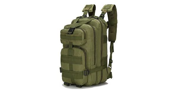 Amazon.com : Outdoor Camping Adjustable Military Tactic Backpack Rucksacks Hiking Travel bag Daypack Mochilas : Sports & Outdoors